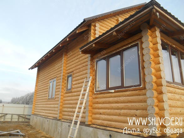 Красивые окна для деревянного дома
