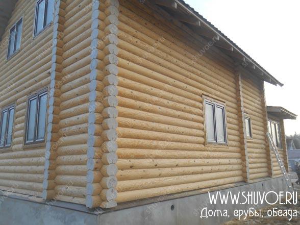Пластиковые окна в деревянный дом