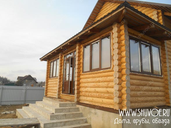 Правильные окна для деревянного дачного дома