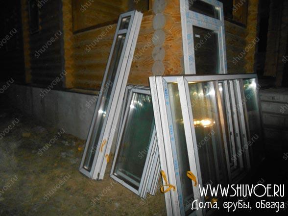 Пластиковые окна на объекте, перед установкой