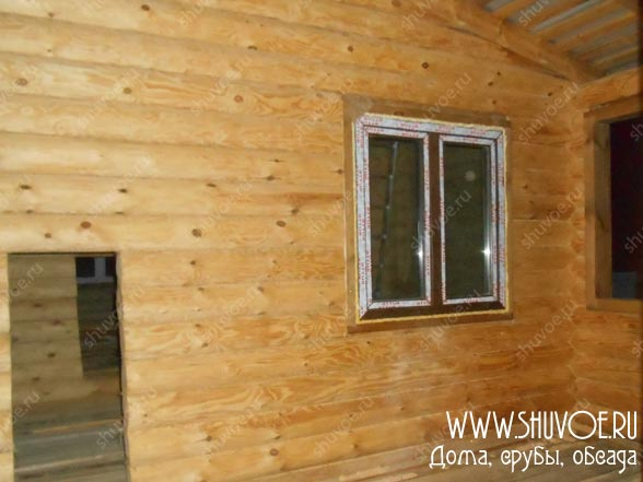 Окна пвх в деревянном доме