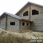 Установка окон в деревянном доме, обсада