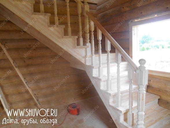 Строительство деревянной лестницы