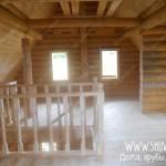 Отделка деревянного дачного дома