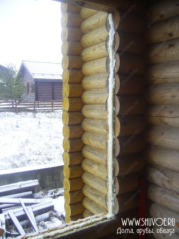 Демонтаж пластиковых окон в деревянном доме, переделка ошибок