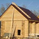 Баня 5х6 с двухскатной крышей