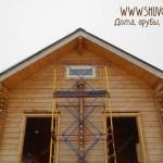 Выбор и установка окон в брусовом доме