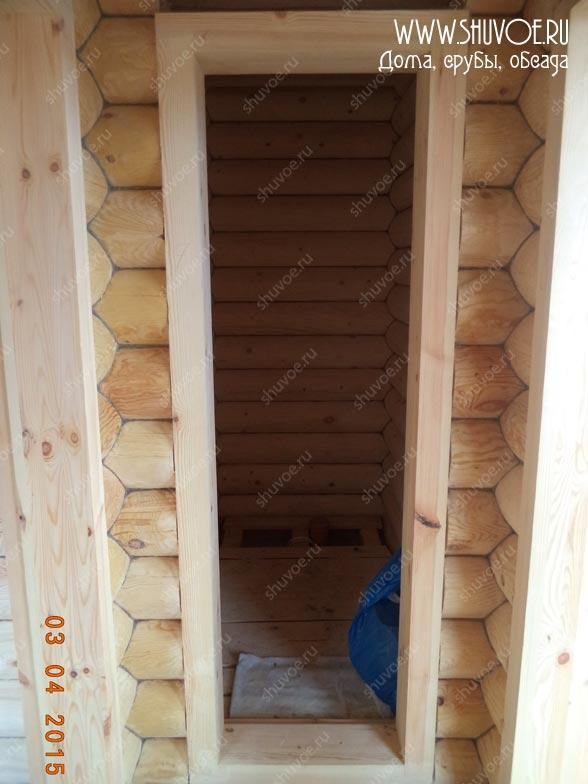 Окосячка дома и бани на одном участке - компани Шувое