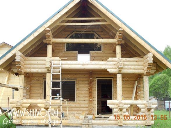 Изготовление и установка обсады в срубах и деревянных домах.