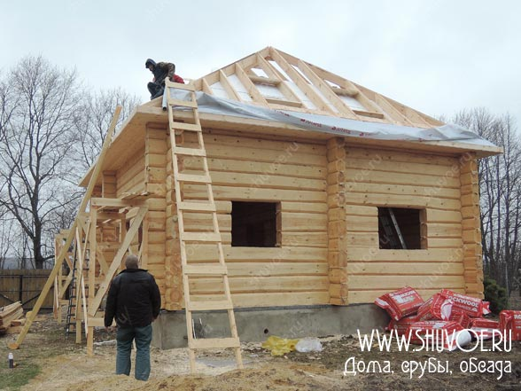 Отделка деревянных окон внутри