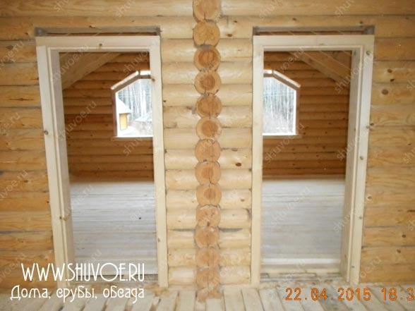 Окосячка в деревянном доме, отчет 1513 от компании Шувое