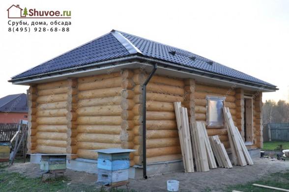 Дом - баня из сруба 6х9.
