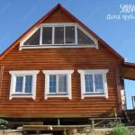 Остекление деревянного дома.