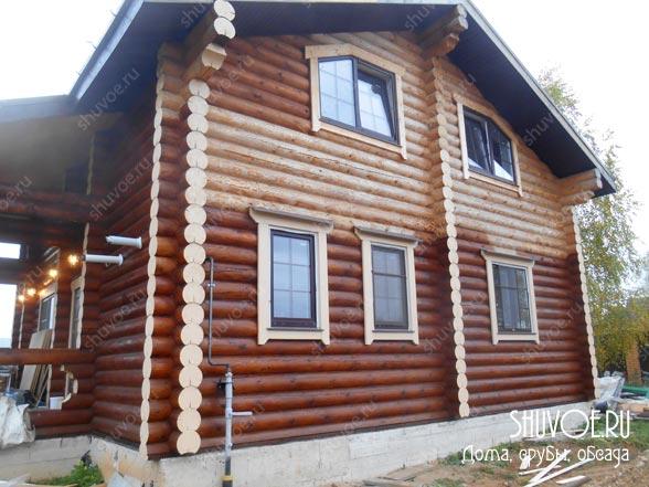 Современные деревянные наличники.