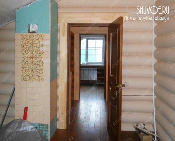 Обустройство деревянного дома.