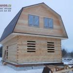 Проект брусового дома Ягодный.