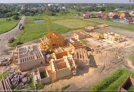Строительство деревянных домов и срубов в компании Шувое